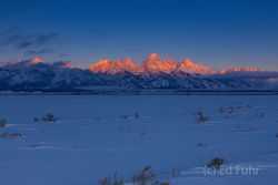 Tetons, Grand Teton, moulton barn, sunrise, 2007