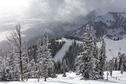 winter, storm, ski, Tetons, Grand Teton