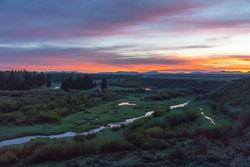spring, sunrise, grand teton, blacktail pond, , 2018, Tetons