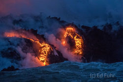 Rivers of Flowing Lava