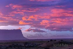 Sunrise On Mt. Lomagnupur
