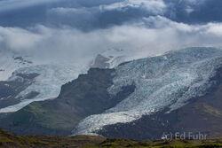 Vatnajokull Glacial Tongues