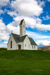 Hallgrimskirkja Church at Sauerbae