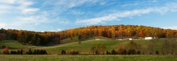 montebello, farm, sunrise, autumn, virginia, photo, photograph