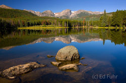 Still Waters on Sprague Lake