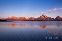 Jackson Lake Sunrise, 2013