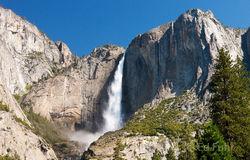 Yosemite Falls at Midday