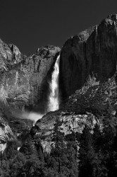 yosemite falls, waterfall, yosemite