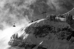 gondola, jackson hole ski resort, ski, snow