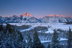 Early Winter Light at Snake River Overlook
