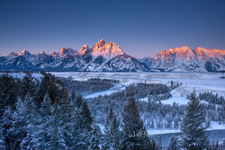 Christmas in the Tetons. 2011