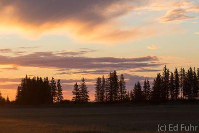 Sunrise at Lake Clark