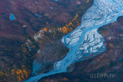 denali national park, photography, images, autumn, fall, mountains, , aerial, sunset