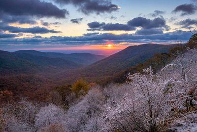 Piedmont Valley View in Snow