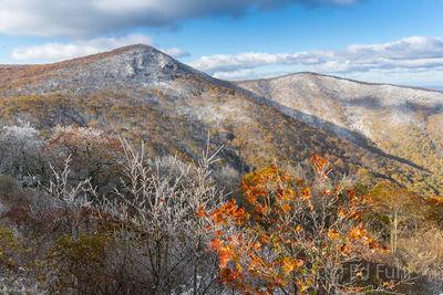 Hawksbill Mountain from Crescent Rock Overlook