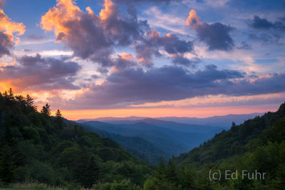 Mortons Overlook Sunrise