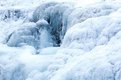 Frozen Dark Hollow Waterfall