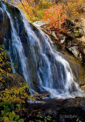 Shenandoah, Shenandoah National Park, photo, photography, images, mountains, wilderness, Virginia, waterfall, fall, autumn, foliage, color