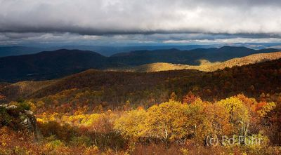 Autumn At The Point Overlook
