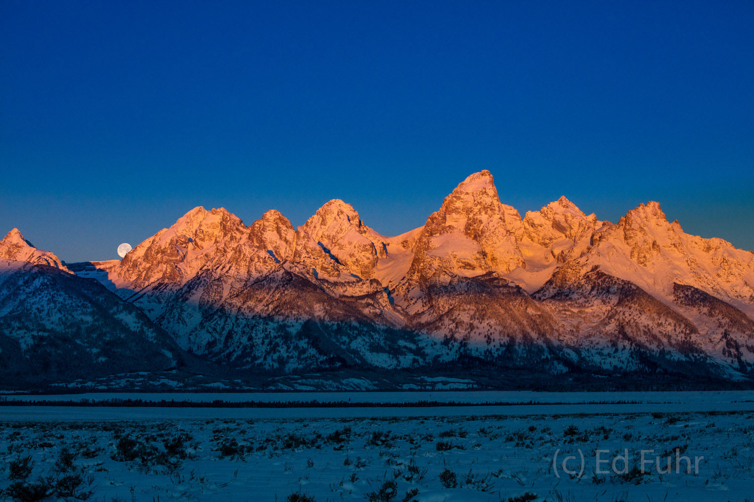 Tetons, Grand Teton, photo