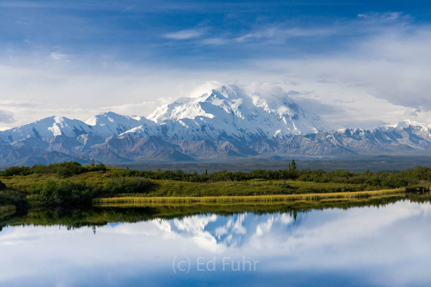 Reflection Pond and Mount Denali