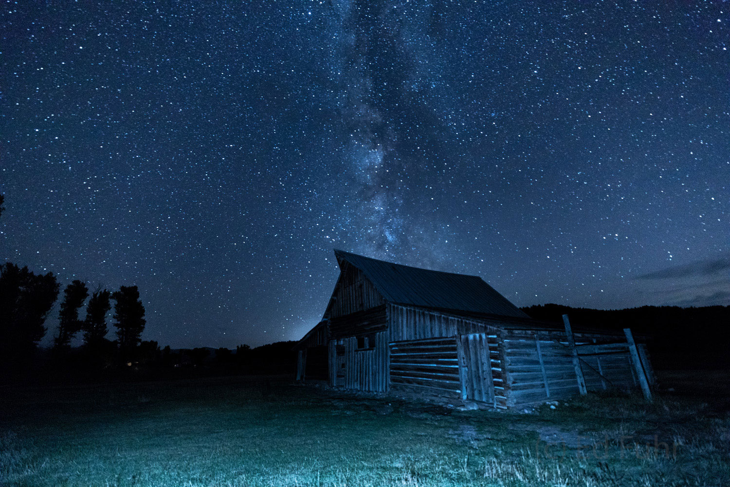 milky way, autumn, moulton barn, Tetons, Grand Teton, photo