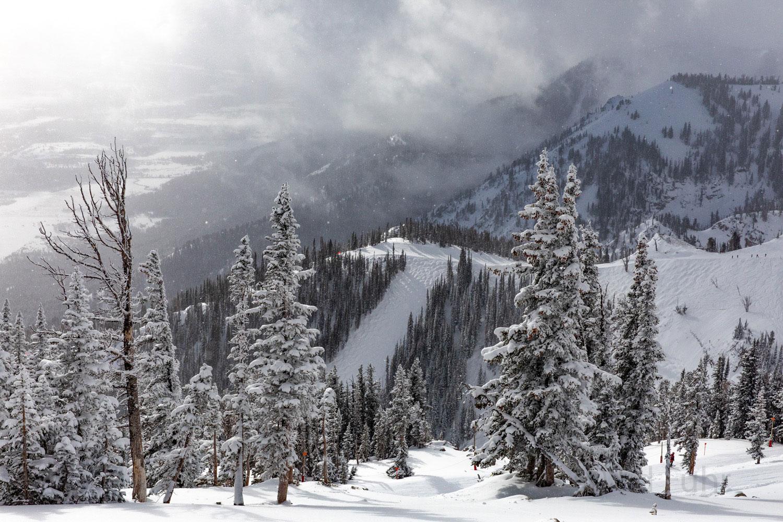 winter, storm, ski, Tetons, Grand Teton, photo
