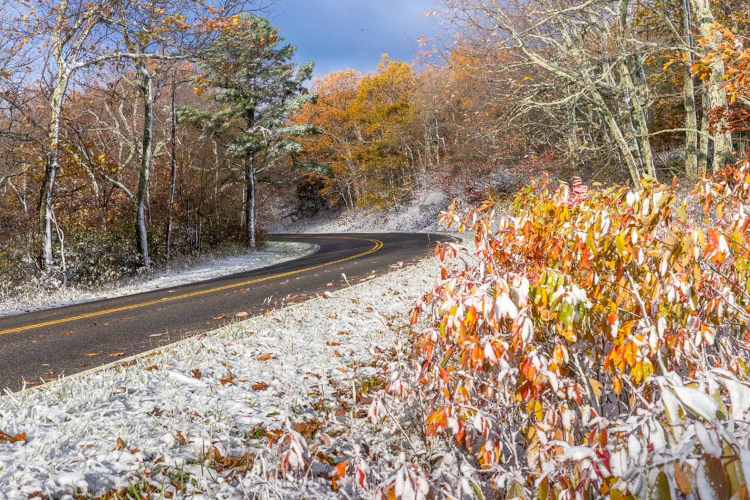 Skyline Drive is one of the most spectacular drives in America.