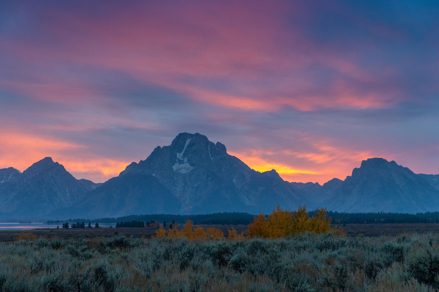 grand teton, fall, autumn, landscape, photo, image, Tetons, photo
