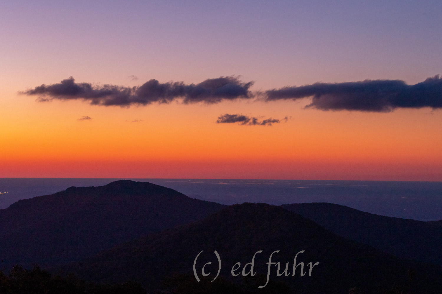 sunrise, old rag, summer, photo