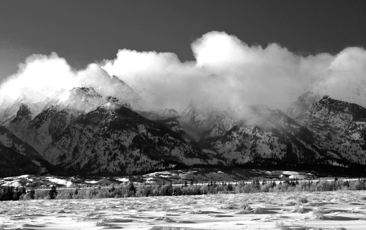 Tetons, storm, , photo