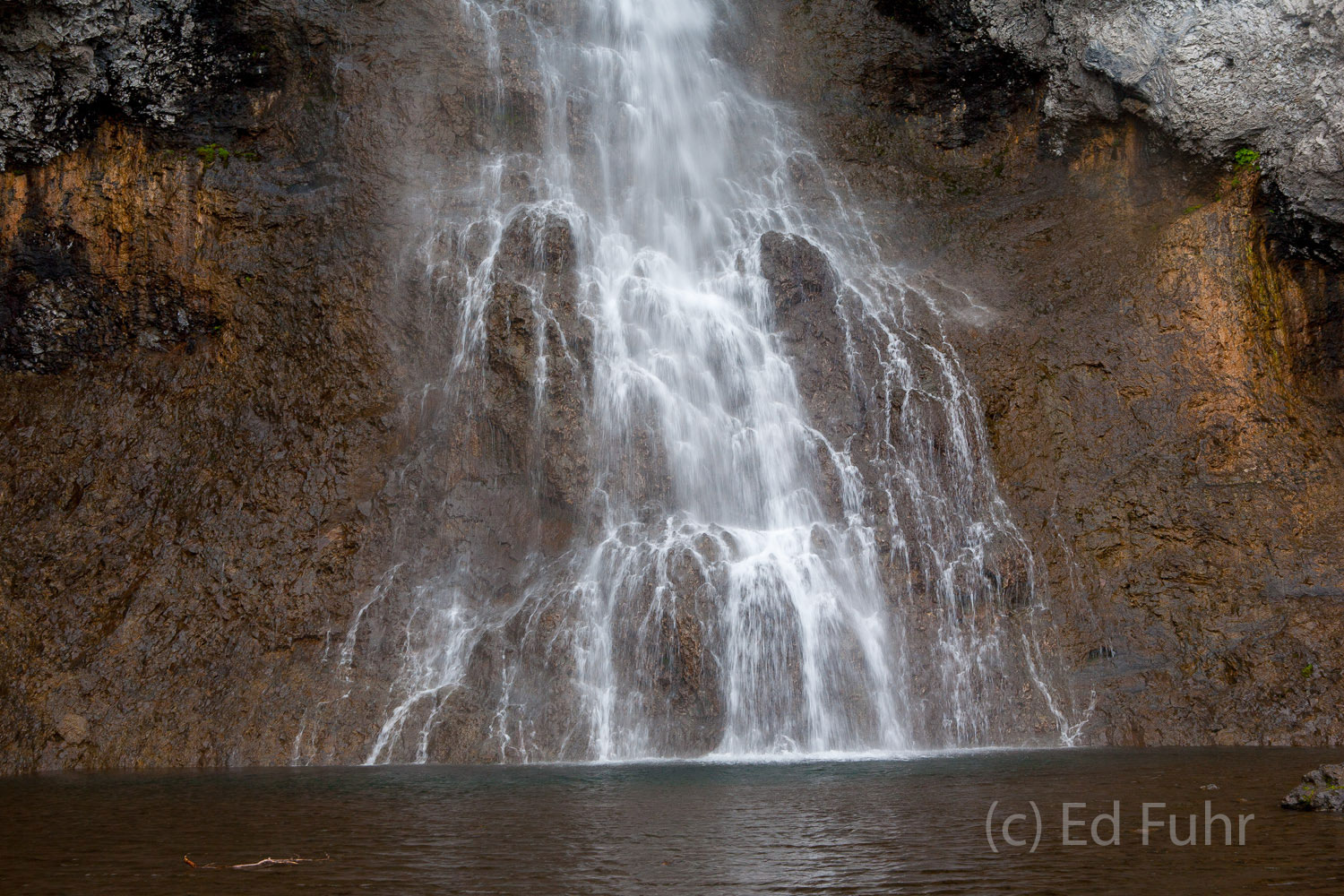 It may take a 5 mile hike, but Fairy Falls can be especially rewarding in early summer when there is plenty of water.