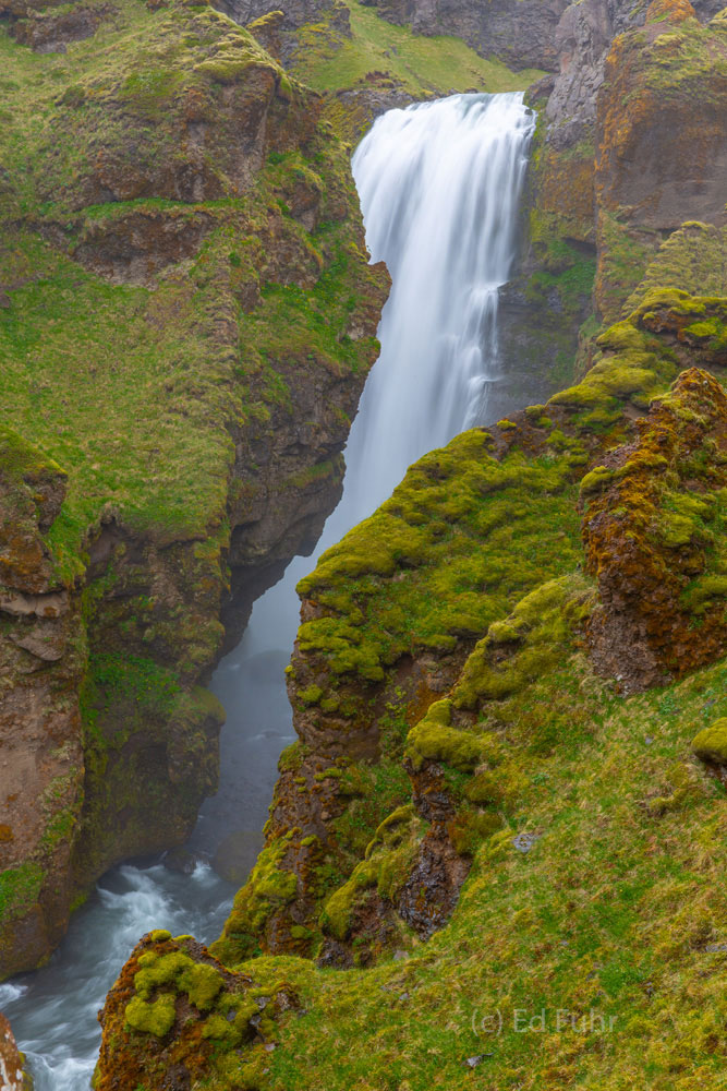 Above Skogafoss is one of the great hikes in the world, following the contours, twists and turns of the Skoga River, through...