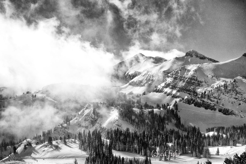 grand tetons, ski, resort, thunder, sublette, winter, Tetons, Grand Teton, photo