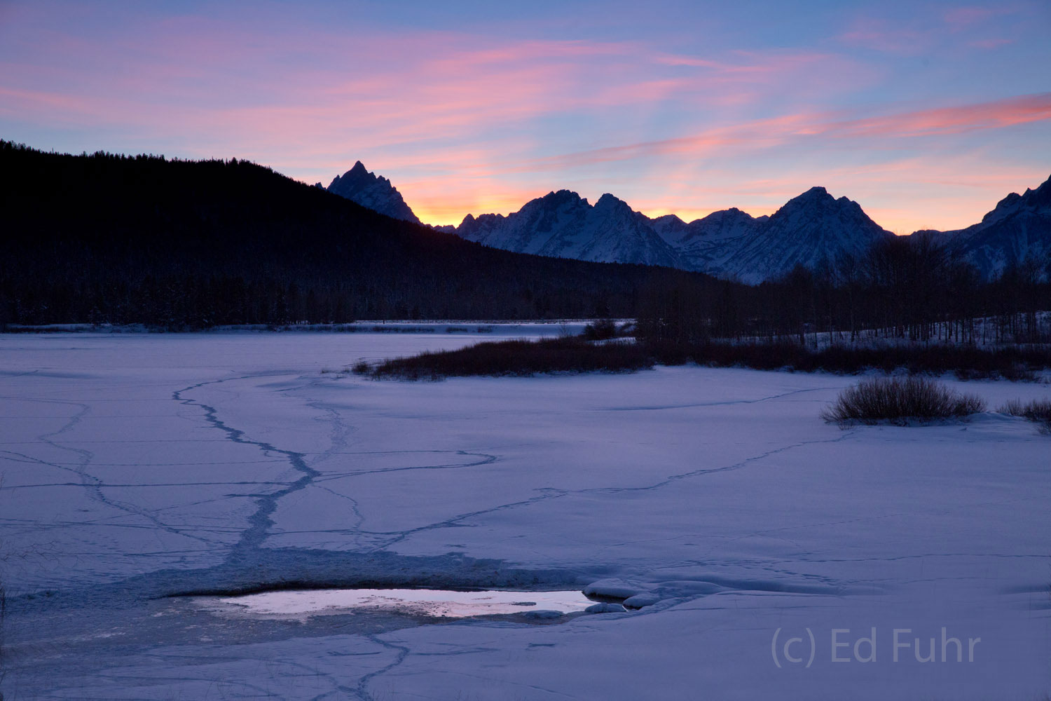 Otter Fishing Hole at Oxbow Bend