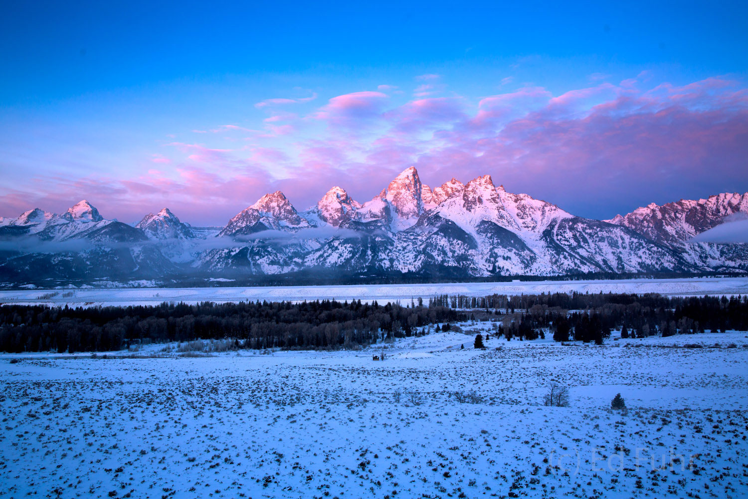 grand teton national park, winter, 2014, , photo