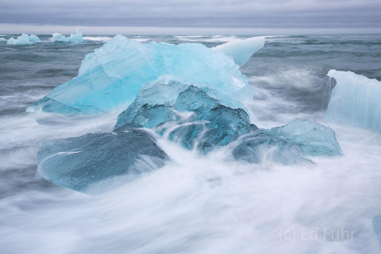 Iceland, glacier, iceberg, landscape, lupine, jokull, foss, icelandic horse, black sand, , photo