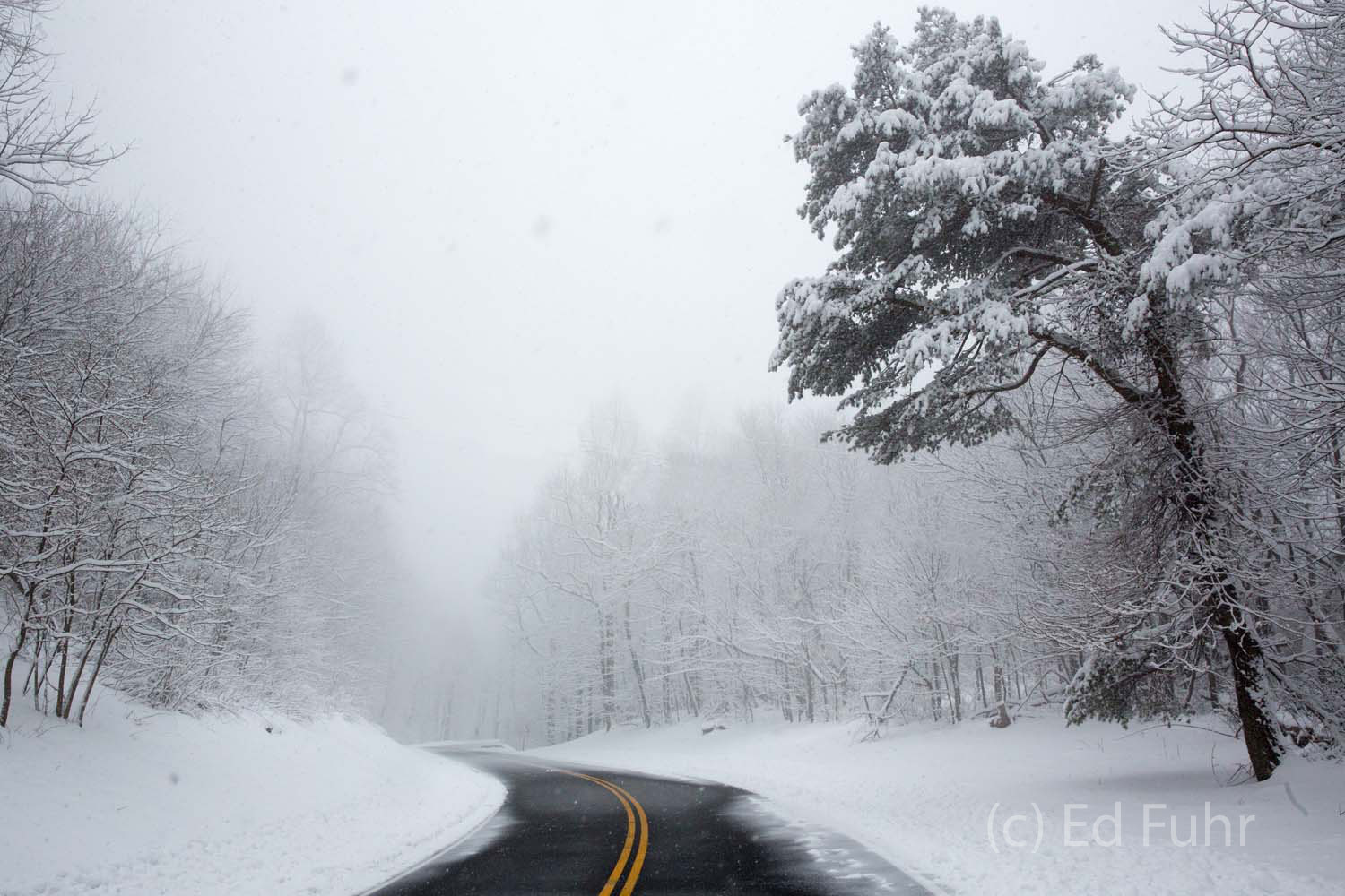 Shenandoah, Shenandoah National Park, photo, photography, images, mountains, wilderness, Virginia, Skyline Drive, road, winter, snow, photo