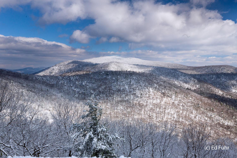Shenandoah, photograph, skyline drive, winter, snow, thanksgiving, landscape, stony man, sunrise, photo