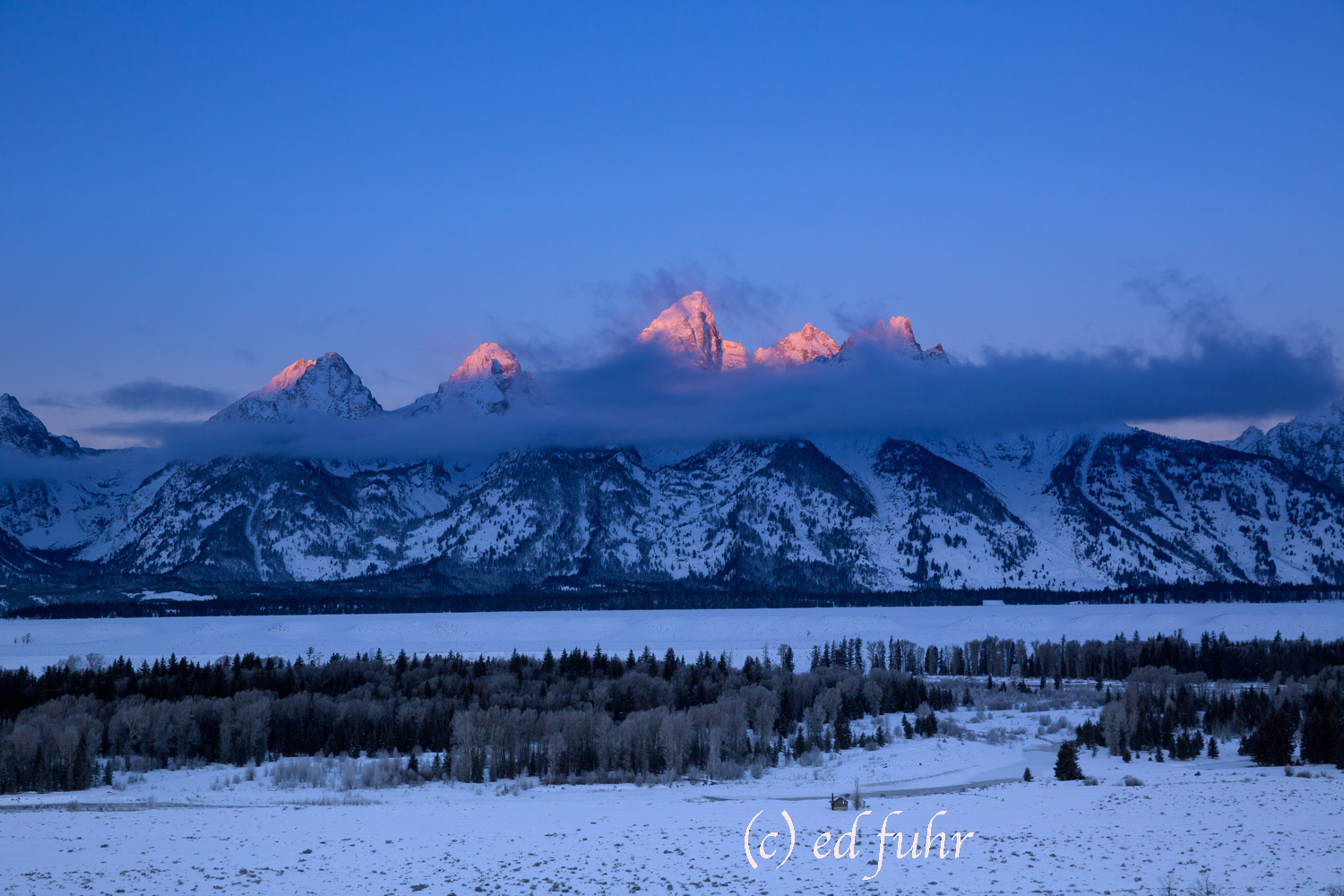 grand Teton national park, winter, , 2014, Tetons, Grand Teton, photo