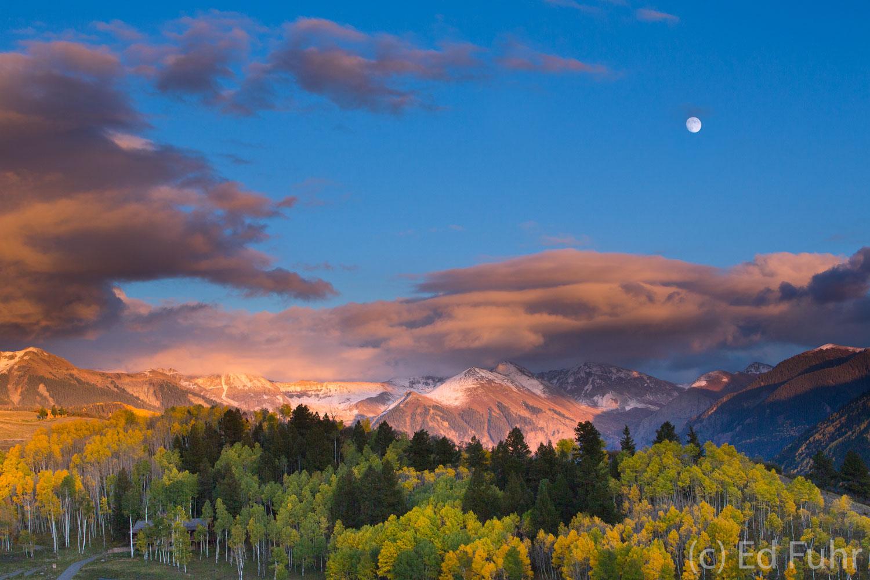 Telluride, moon, , photo