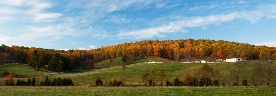 montebello, farm, sunrise, autumn, virginia, photo, photograph, photo