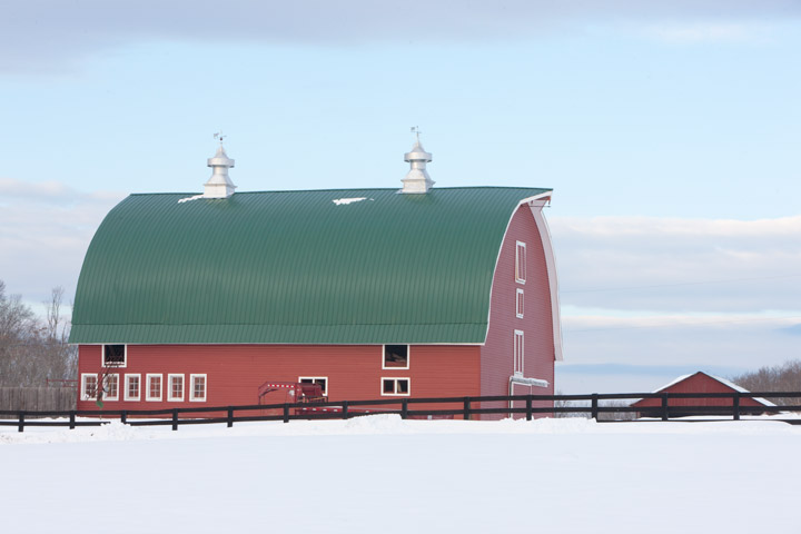 red barn, snow, virginia, photo