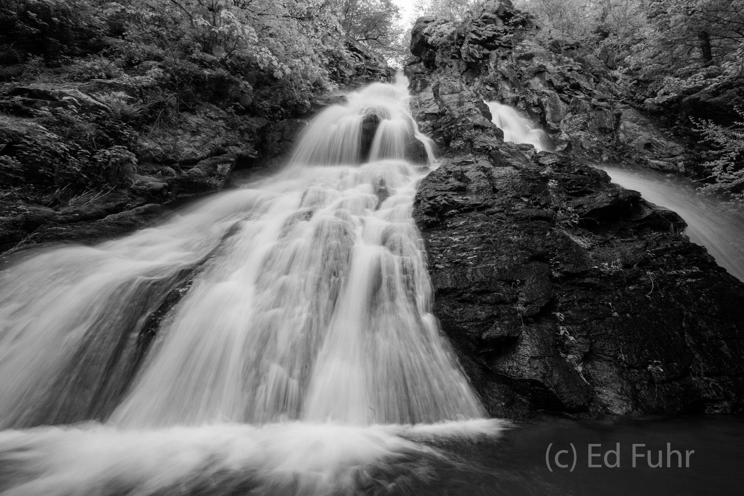 South River Falls, Shenandoah national park, image, photograph, photo