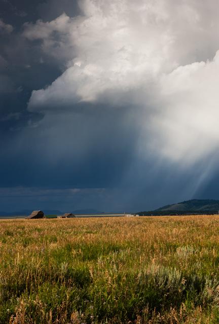 thunderstorm, tetons, photo