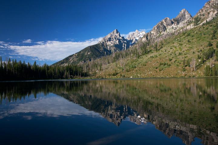 string lake, tetons, photo