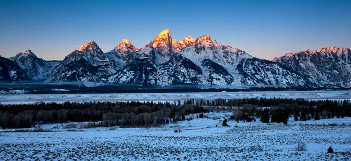 teton, sunrise, christmas, dawn,, photo