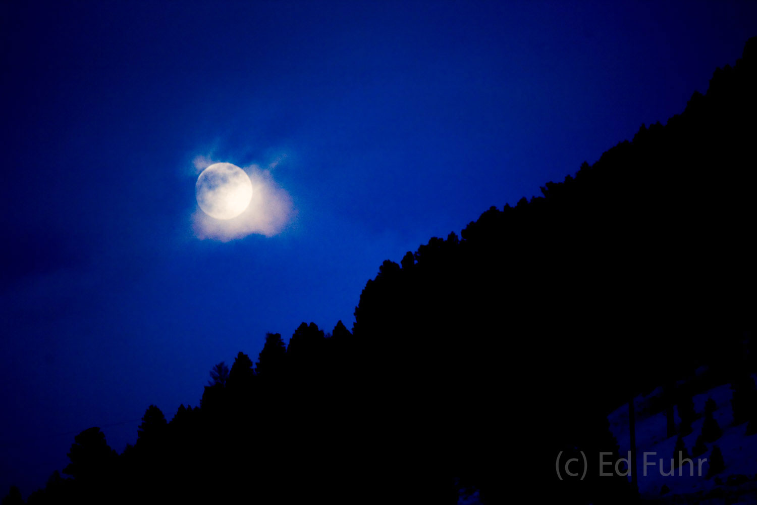 millers butte, moonrise, tetons, photo