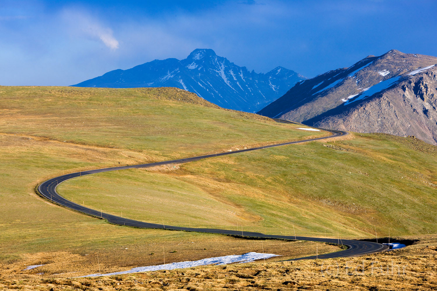 trail ridge road, rmnp, tundra, continental divide, colorado, photo
