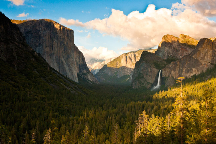 yosemite, tunnel view, photo